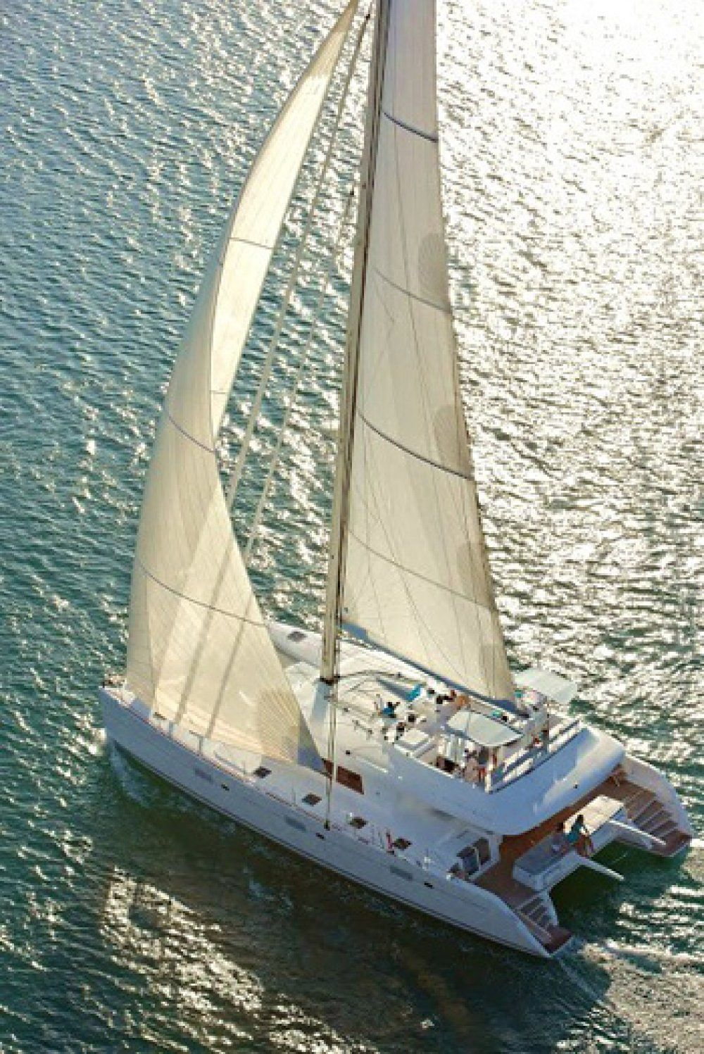 Charter catamaran foxy lady virgin islands for By the cabin catamaran charters