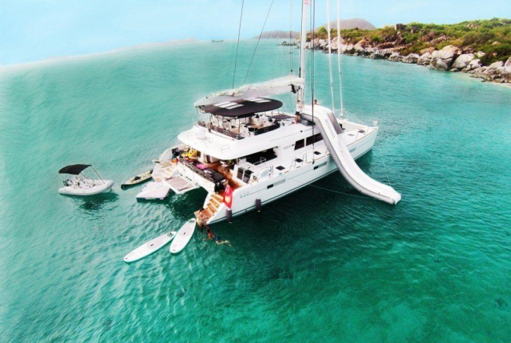 Charter Catamaran London Sky Virgin Islands