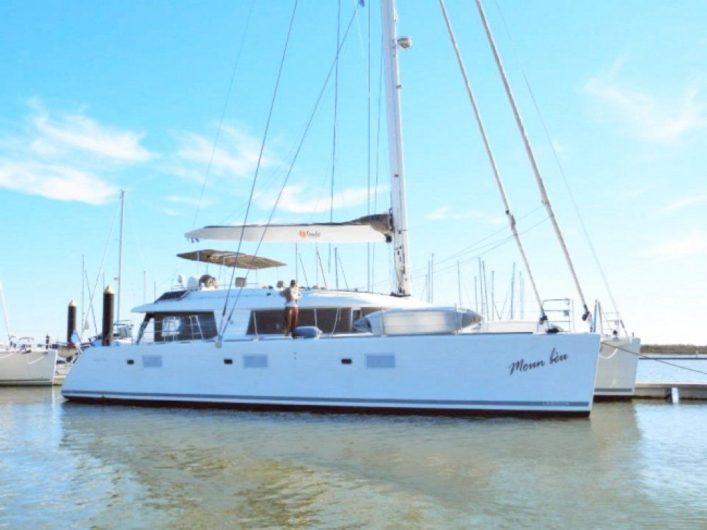 Charter catamaran moun beu lagoon 62 4 cabins bvi for By the cabin catamaran charters