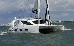 Pearl crewed catamaran 3 cabins up to 6 guests bvi central america