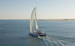 Enigma crewed catamaran 4 double cabins up to 8 guests bvi and the grenadines
