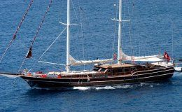 Queen of karia luxury gulet 35 m 5 cabins turkey