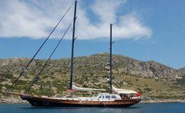 Papa joe luxury gulet 33 meters 5 cabins turkey
