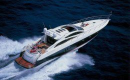 Aspire of london sunseeker predator 72 4 cabins sardinia corsica