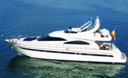 Astondoa 72 day charter up to 10 guests estepona malaga