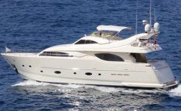 Ferreti 94 day charter up to 12 guests puerto banus