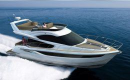 Galeon 420 fly day charter up to 11 guests estepona