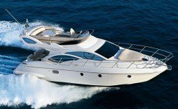 Azumut 43 fly day charter up to 11 guests puerto banus marbella