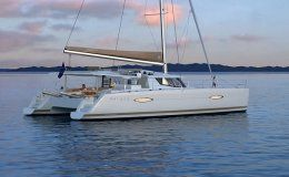 Charter catamaran helia 44 3 double cabins marsh harbour bahamas