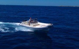 Charter boat gommonautica g 65y day charter ibiza