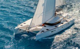 Charter catamaran lazy beach balearics canary islands