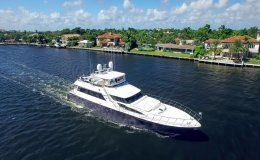 Charter yacht first home bahamas