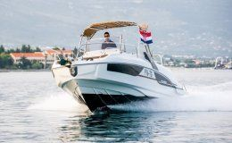 Beneteau flyer 7 7 sunderk day charter boat in croatia