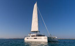 Catamaran lagoon 52 for charter in ibiza