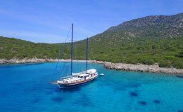 Kaya guneri 1 charter gulet in turkey