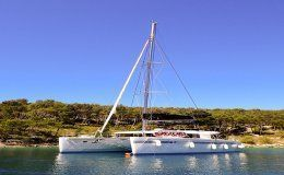 Arctic prince catamaran for charter in croatia