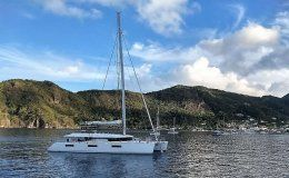 Ava isabella catamarans for charter in the bvi