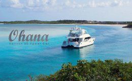 Ohana catamarans for charter in the bvi