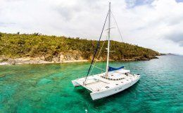 Tabula rasa catamarans for charter in the bvi
