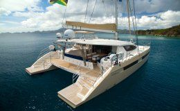 Xenia 50 catamarans for charter in the bvi