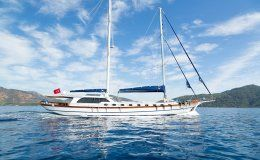 White rose charter gulet in turkey