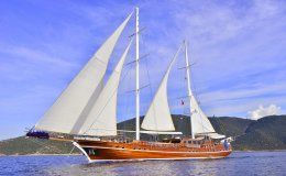 Lycian queen charter gulet in turkey