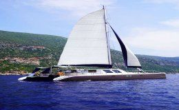 Mystique catamarans for charter in the greece