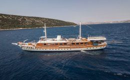 Elara 1 charter gulet in turkey