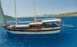 Ametist a charter gulet in turkey