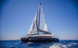 Catamaran carpe diem greece