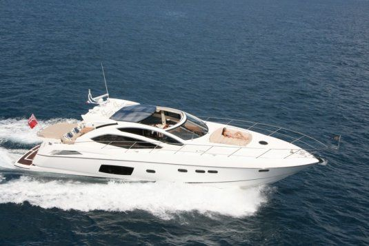 Sunseeker predator 64 day charter up to 11 guests golfe juan
