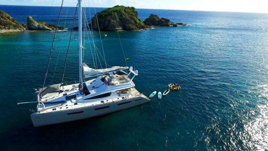 Charter catamaran xenia 74 virgin islands