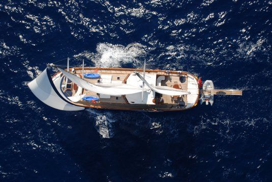 Atalante gulets for charter in turkey