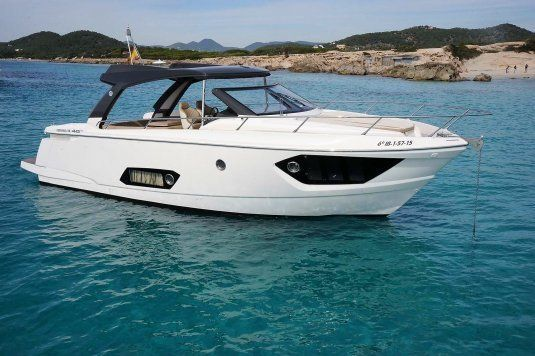 Absolute 40 for day charter in ibiza